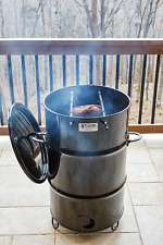 Pit Barrel Cooker Rotisserie Meat Smoker BBQ Charcoal Grill Oil Drum Barbecue