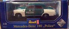 Mecedes-Benz 180 Police 1:18 by Revell