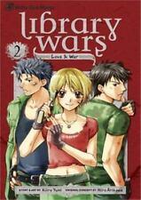Library Wars: Love & War, Vol. 2, Kiiro Yumi, Good Condition, Book