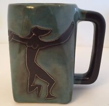 Design by MARA Mug Stoneware Square 12 oz Coffee Cup Nude Women Female Dancers