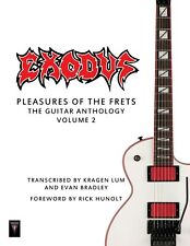 """Exodus """"Pleasures of the Frets: The Guitar Anthology Vol. 2"""" Official Tab Book!"""