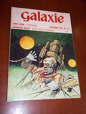 "REVUE ""GALAXIE  N° 127"" (1974) 2e SERIE / SCIENCE-FICTION / COUV. BILAL"