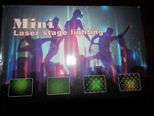 Mini Laser Projector Stage Lights LED Holographic Star Projector