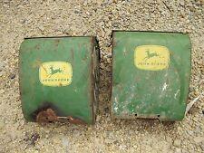 John Deere corn planter good original Jd fertilizer box boxes w/ lid