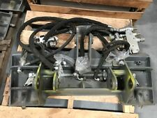 WACKER NEUSON WL30 / WL32  ADAPTER PLATE WITH HYDRO LINES AND BRACKETS