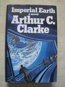Imperial Earth by Arthur C. Clarke (Gollancz 1975) Hardback SF Bruce Pennington