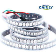 WS2812B LED Strip RGB Waterproof 30/60/144 LED/M WS2812IC Individual Addressable