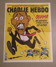 CHARLIE HEBDO 1268 rare - Barack Obama 9.11.2016