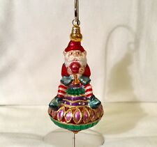 Polonaise Glass Ornament: Spin Spin, AP1664, New in Box