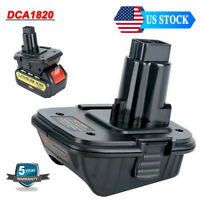 Adapter DCA1820 Convert 20V Max Lithium to 18Volt Ni-CD Battery for Dewalt Tools