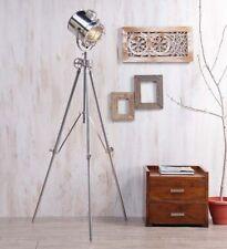 Vintage Adjustable Tripod Movie Studio Floor Lamp Modern Searchlight Design