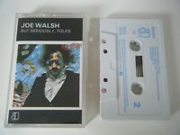 JOE WALSH BUT SERIOUSLY, FOLKS CASSETTE TAPE THE EAGLES ASYLUM 1978