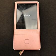 Rare iRiver E100 Pink Mp3 Music Player 4Gb - Tested & Working