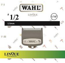 "WAHL Clipper Premium Attachment comb Guide No. #1/2 1.5 mm 1/16"" Cutting Guide"