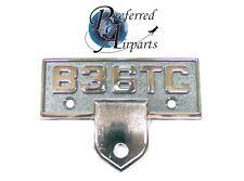 Pair of New Beechcraft Model B36TC Bonanza Emblems p/n B36TC