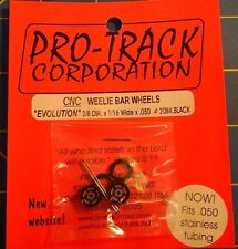 Pro-Track #208K Black Weelie Bar Wheels Evolution from Mid-America Naperville