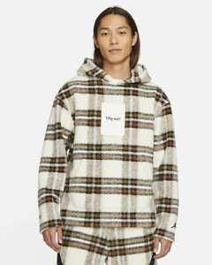 Jordan New Why Not? Wool Hoodie Sweatshirt Westbrook Jumpman Plaid XL