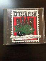 Citizen Fish - Wider Than A Postcard CD Punk Rock Hardcore Subhumans