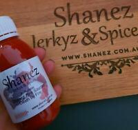 Carolina Reaper Paste 'Death by Fire'  Shanez 120ml Chilli  Free Post