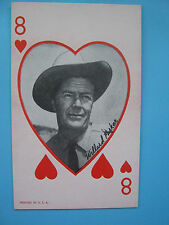 Willard Parker- Western Vintage 1950's Exhibit, Marketing, Penny Card
