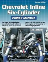 Chevrolet 230 250 292 194 Inline 6 Six Cylinder Engine Manual Book Rebuild Chevy