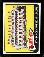 1965 TOPPS #403 RED SOX TEAM EXMT RED SOX *XR28042