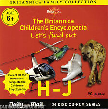BRITANNICA FAMILY COLLECTION: LET'S FIND OUT H-J (Daily Mail PC CD-ROM)