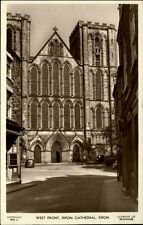 Ripon England Yorkshire 1954 Cathedral Kirche Church Kathedrale Building Gebäude