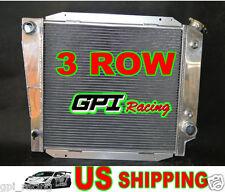w/o EOC w/ TOC Racing Aluminum Radiator Ford Bronco 2.8 3.3 4.7 5.0 L6 V8 GAS