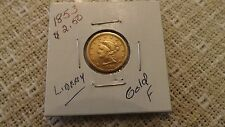 1853 Liberty $2.50 Gold Coin XF