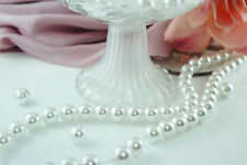 70pcs Beads-12mm Pure White Color Faux Imitation Acrylic Round Pearl Spacer
