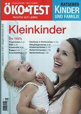 ÖkoTest SPEZIAL Sonderheft Kinder und Familie KLEINKINDER SPEZIAL,, neuwertig