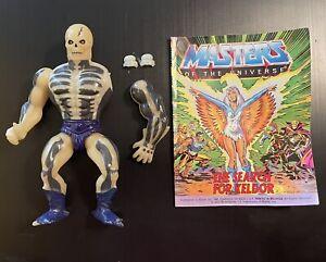 Vintage 1981 MOTU Scareglow Scare Glow Action Figure Mattel 1980s