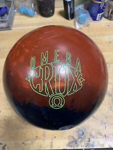 15LB Storm Omega Crux Bowling Ball USED BOWLING BALL VG