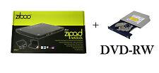 Ziboo Zipad Netbook USB Docking Station Laptop External DVD-RW Drive Caddy + DVD