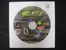 Army Men: Soldiers of Misfortune (Sony PlayStation 2, 2008) game only