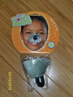 VINYL MOUSE NOSE ANIMAL COSTUME KIDS PLAY FA226