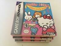 Hello Kitty: Happy Party Pals (Nintendo Game Boy Advance, 2005) GBA NEW!