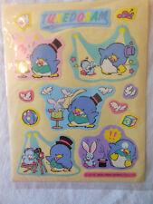Sanrio artbloom stickers TUXEDO SAM 1979 1984 1988