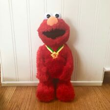 Talking TICKLE ME ELMO TMX eXtra Special Edition SESAME STREET Clean Works!