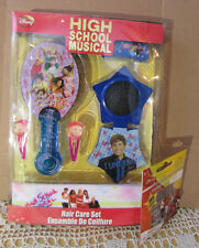 HIGH SCHOOL MUSICAL 6-pc.Hair Care Set New/NOS 2006 Sealed Box Disney WorldTrend