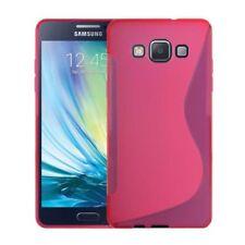 Fundas y carcasas brillantes Samsung color principal rosa para teléfonos móviles y PDAs