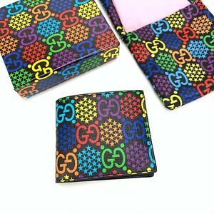 New GUCCI Pyschedelic BIFOLD Wallet BRAND NEW, UNUSED, WITH BOX, CLOTH AND TAGS