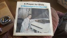 ELVIS PRESLEY-HAROLD LOYD-A Prayer For Elvis-Mega Rare Picture Sleeve+45-N Mint