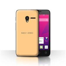Étuis, housses et coques orange Pour Alcatel One Touch pour téléphone mobile et assistant personnel (PDA)