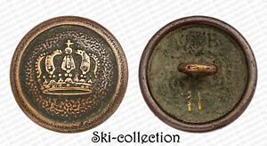 Button Military, Troupes. Empire German. Model 1910. 21 MM