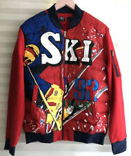 Polo Ralph Lauren Vintage Ski 92 Downhill Hybrid Puffer Down Front Jacket Size L