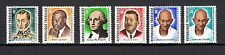 Togo 1969 Famous People Washington Gandhi MNH Mi.756-61