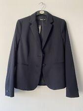 Mango Dark Navy Blue Blazer Size S Small 8 10 12 Zara