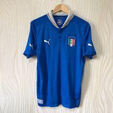 ITALY 2013 2014 HOME FOOTBALL SHIRT SOCCER JERSEY PUMA 740355